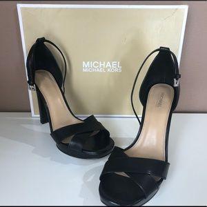 Michael Kors Divia Ankle Strap Heels